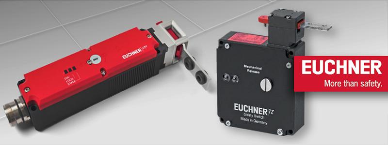 Elektromechaniczne urządzenia ryglujące osłonę – rozwiązania Euchner